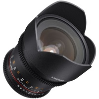 10mm T3.1 VDSLR UMC II APS-C (Lens for Pentax K) Video Lens