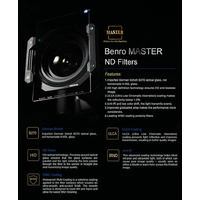 Benro Master 100 x 150mm Glass (Soft) GND (4-Stop)