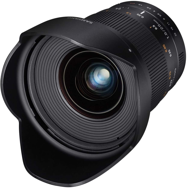 Samyang 20mm F1.8 UMC II APS-C Nikon AE Camera Lens main image