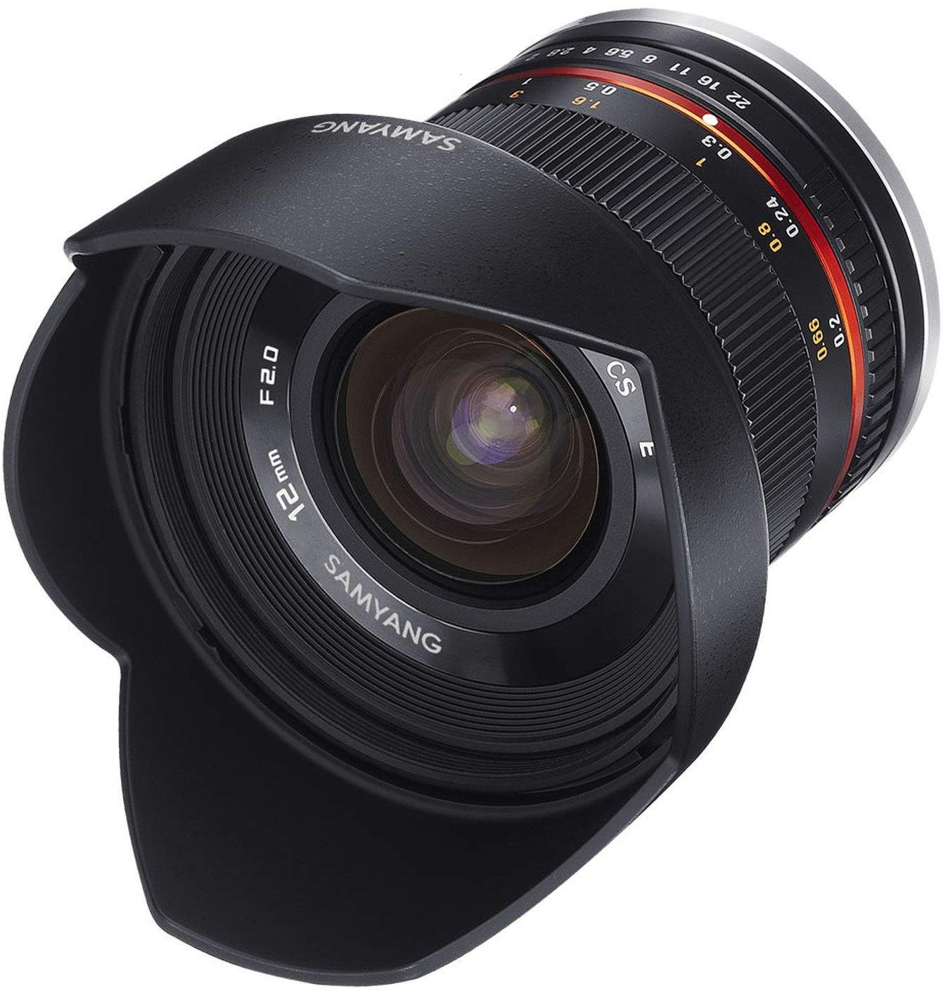 Samyang 12mm F2.0 UMC II APS-C Canon M - Black Camera Lens main image