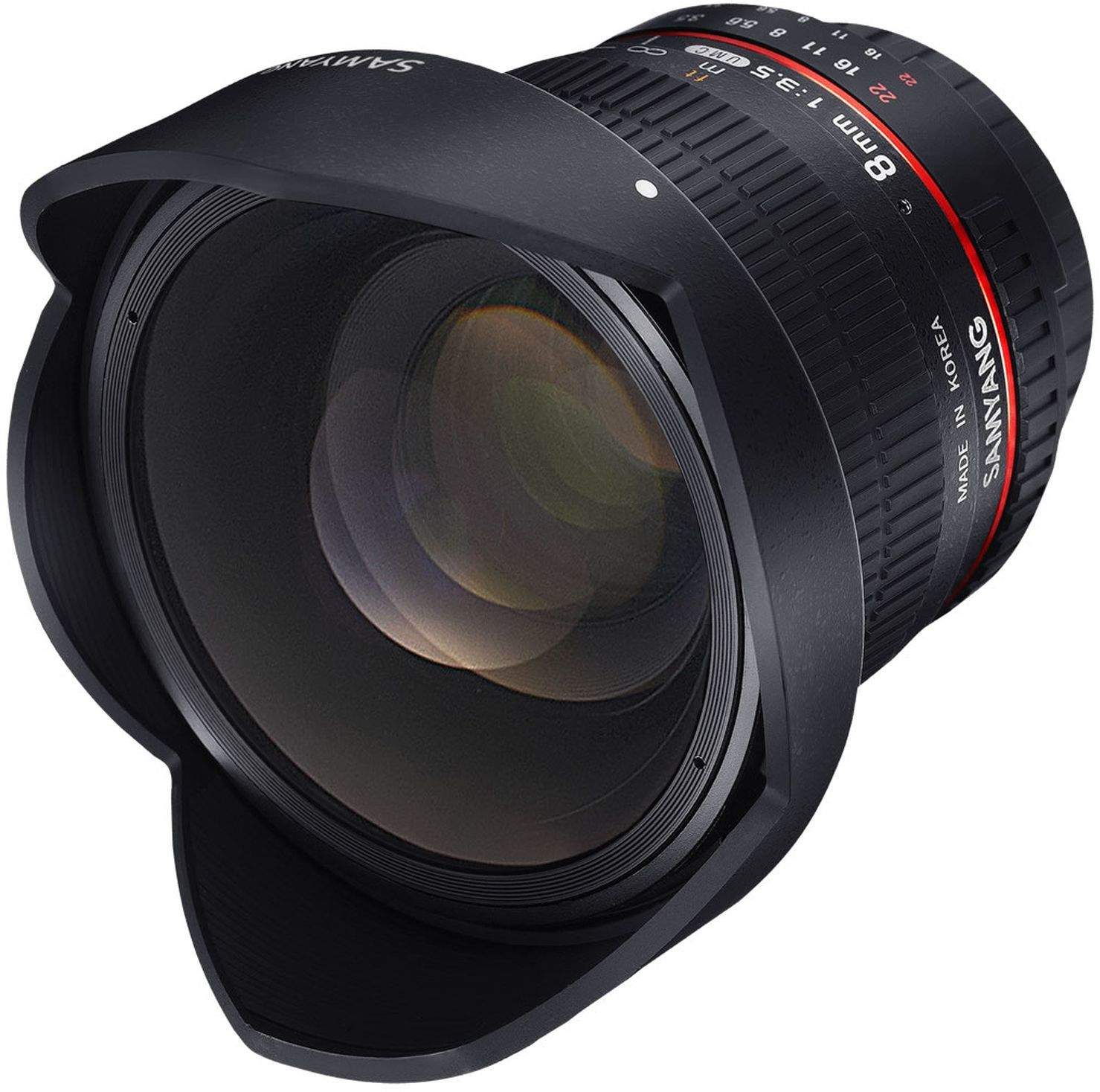 8mm F3.5 Fisheye UMC II APS-C Sony E main image