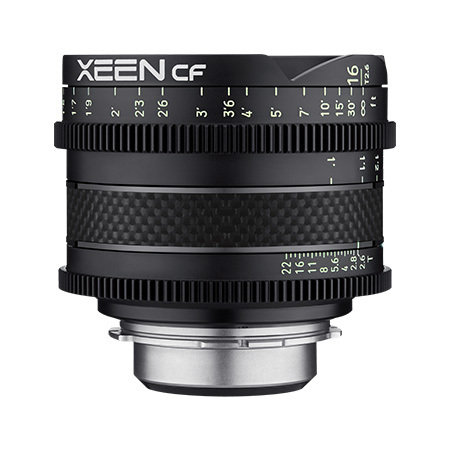 16mm T2.6 XEEN CF Canon EF Full Frame Cinema Lens main image