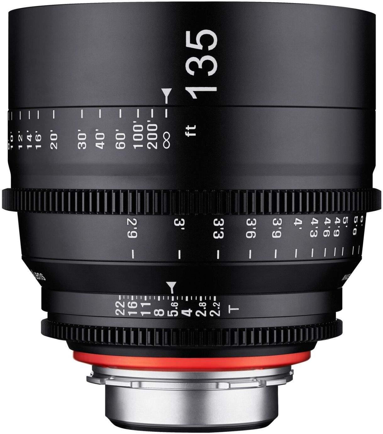 135mm T2.2 XEEN PL Full Frame Cinema Lens main image