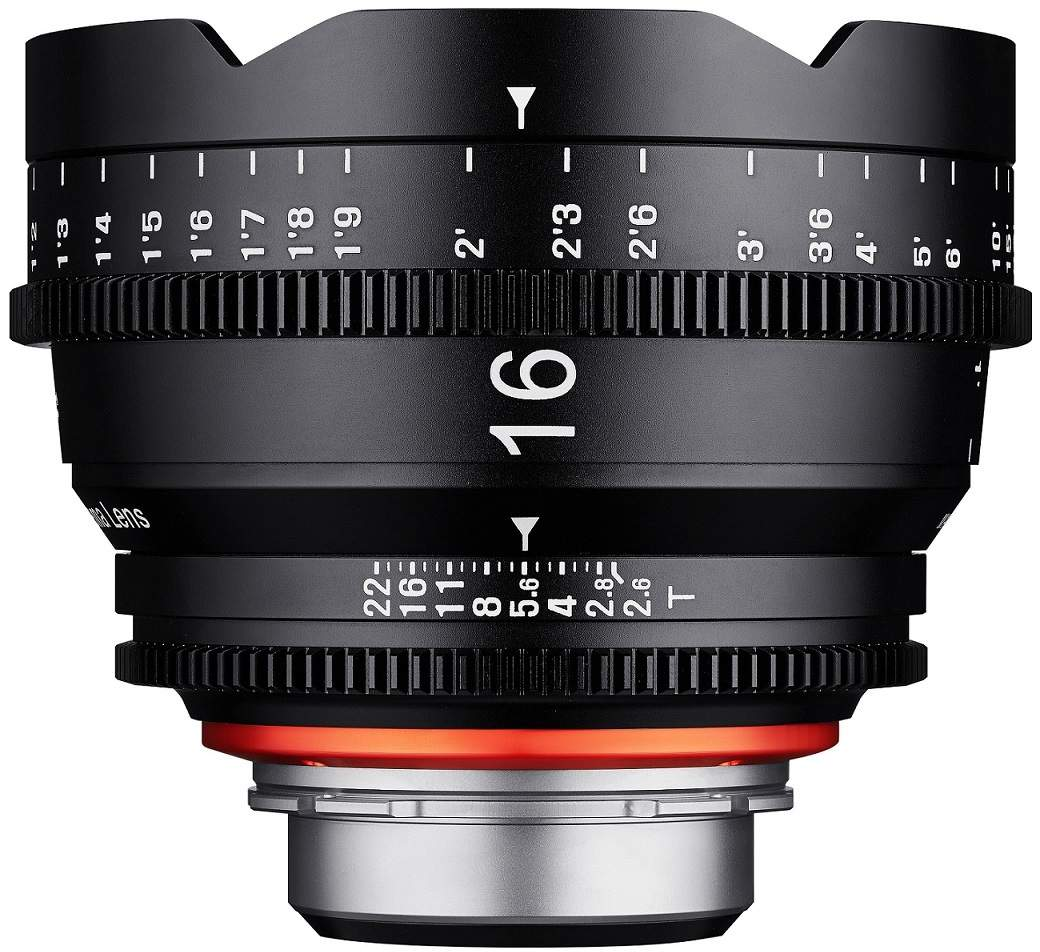 16mm T2.6 XEEN Sony E Full Frame Cinema Lens main image