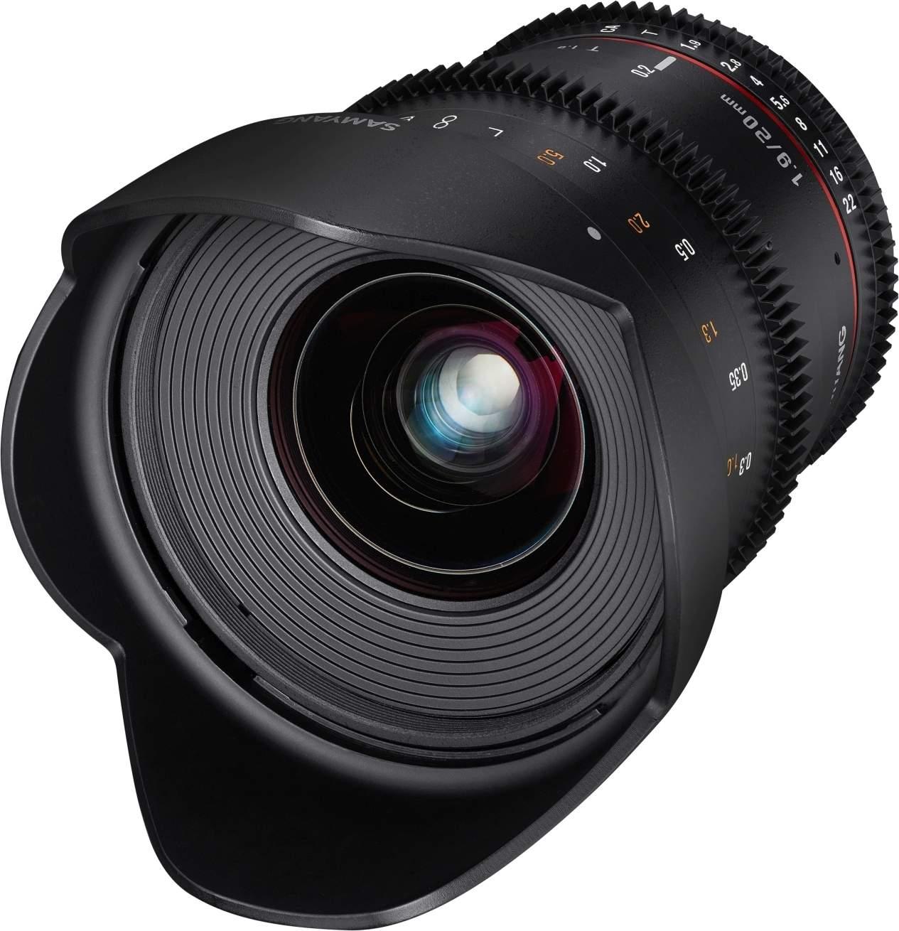 20mm T1.9 VDSLR UMC II Canon EF Full Frame main image