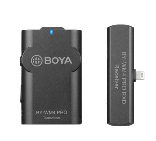 BOYA BY-WM4 Pro-K3, 2.4GHz Wireless Microphone Kit for iOS 1+1 main image