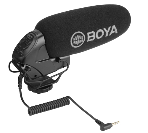 BOYA BY-BM3032 Super Cardioid On-Camera Shotgun Microphone main image