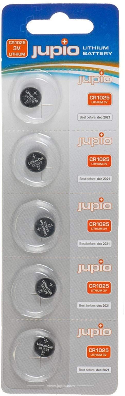 5 x Jupio CR1025 3V Batteries main image