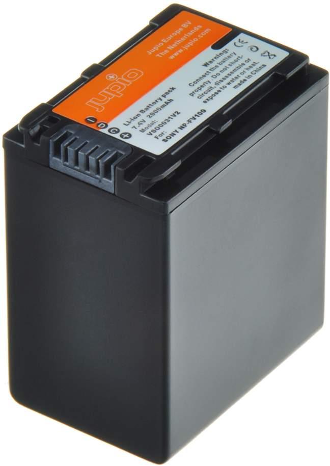 Jupio Sony NP-FV100 7.4V 2900mAh Video Battery main image