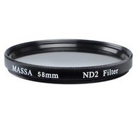Massa Variable ND2-ND8 58mm Slimline Filter