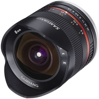 8mm F2.8 Fisheye UMC II APS-C Fuji X - Black