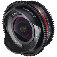 7.5mm T3.8 Fisheye VDSLR UMC II APS-C MFT