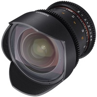 14mm T3.1 VDSLR UMC II Fuji X Full Frame Video Lens