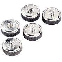 "5 x Hama Tripod Conversion Screws (1/4"" to 3/8"")"