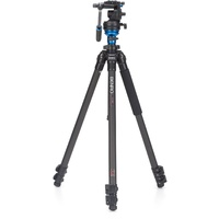 Benro C1573FS2 (S2 Head) Carbon Fibre Video Tripod Kit