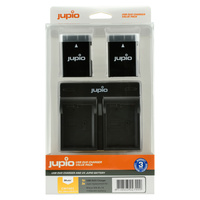 2 x Jupio Nikon EN-EL14/EN-EL14A Batteries & Dual Charger Kit