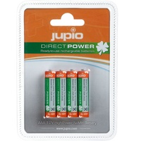 Jupio 4 x Rechargeable DIRECT POWER AAA Batteries (850mAh)
