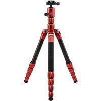 MeFOTO RoadTrip S Travel Tripod Monopod - Aluminum Red