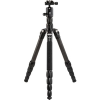 MeFOTO RoadTrip S Travel Tripod Monopod - Carbon Fibre Black