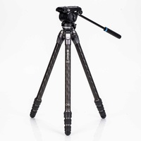 Benro Tortoise 24CLV with S4PRO Head, Carbon Fibre, Video Tripod Kit